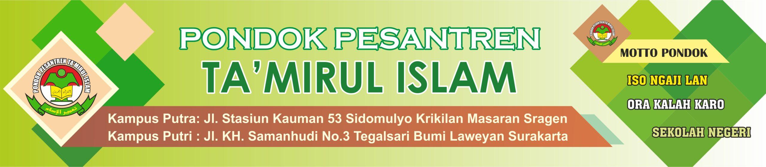 Ponpes Ta'mirul Islam